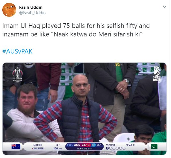Angry Pakistan Fan Imam