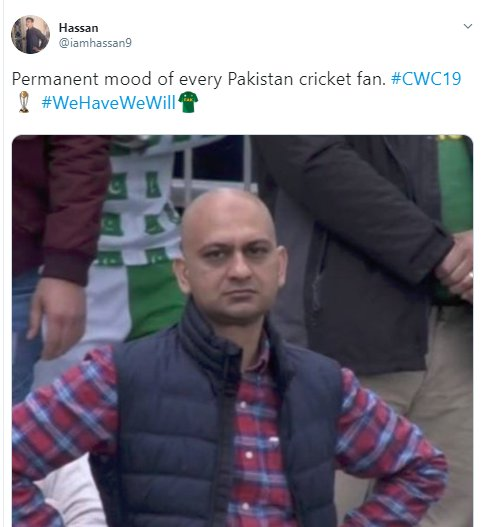 Angry Pakistan Fan Mood