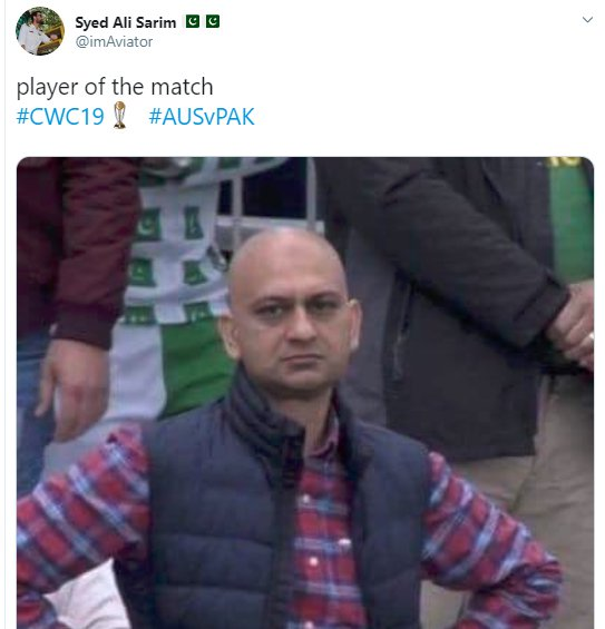 Angry Pakistan Fan Player