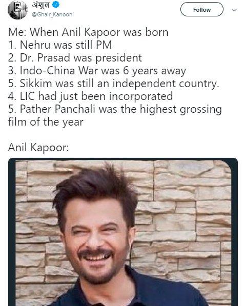 Anil Kapoor Age Ghair_kanooni Nehru