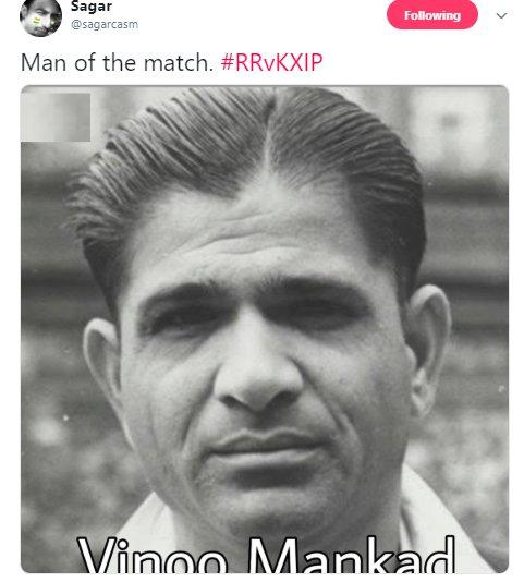 Ashwin Mankad Man of the Match