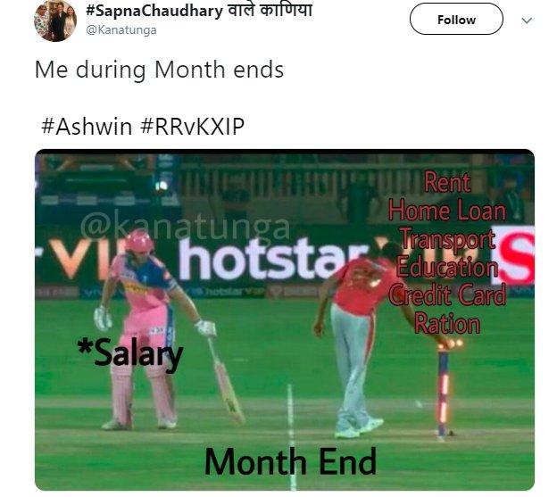 Ashwin Mankad Month End