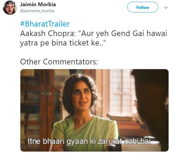 Bharat Trailer Katrina Aakaash Chopra