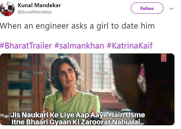 Bharat Trailer Katrina Engineer