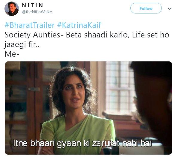 Bharat Trailer Katrina Society