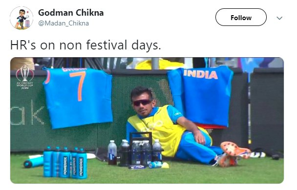 Chahal Chilling Hr