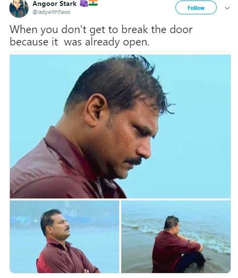 Depressed Daya Cid Acp Door Open