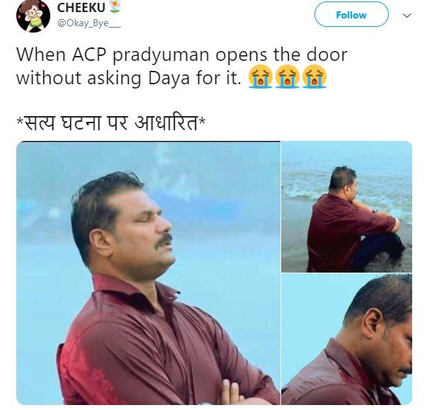 Depressed Daya Cid Acp Door