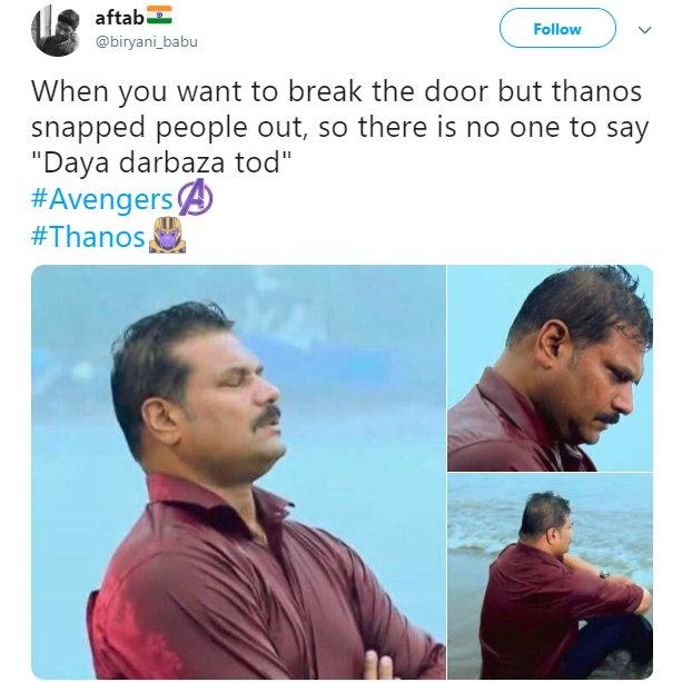 Depressed Daya Cid Thanos