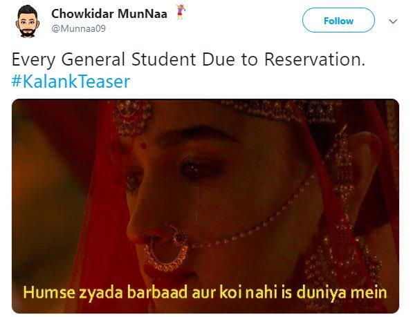 Kalank Munnaa09 Reservation