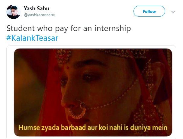 Kalank Yashkaransahu Paid Internship