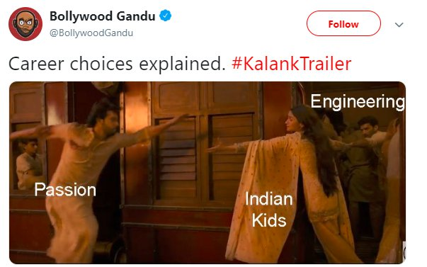 Kalank BollywoodGandu Engineering