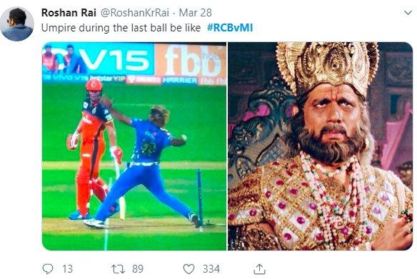 Malinga No Ball Dhritharashtra