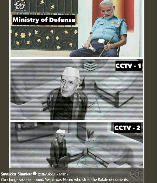 Nehru Rafale Savukku