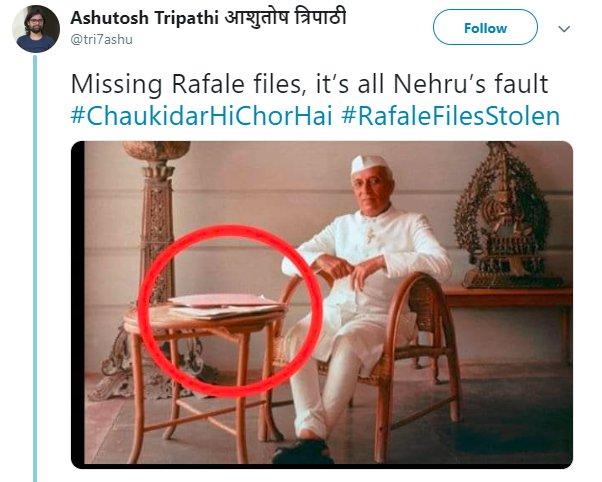Nehru Rafale Tri7ashu