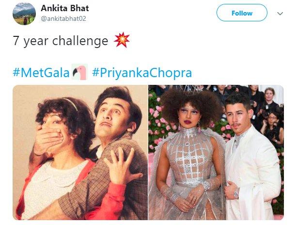 Priyanka Chopra Met Gala Barfi