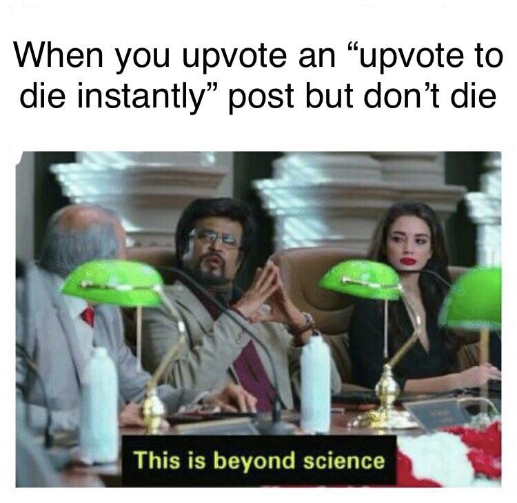 Rajinikanth Beyond Science Upvote