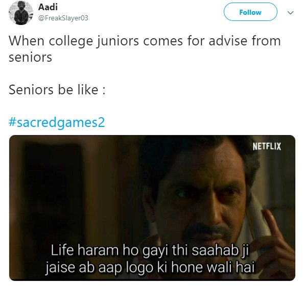Sacred Games 2 Trailer Life Seniors