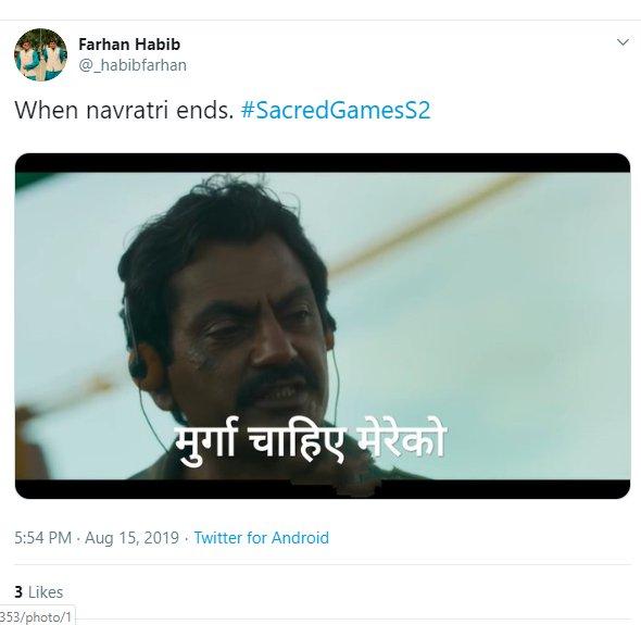 Sacred Games 2 memes | Week In Memes