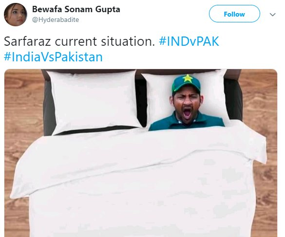 Sarfaraz Yawn Bed