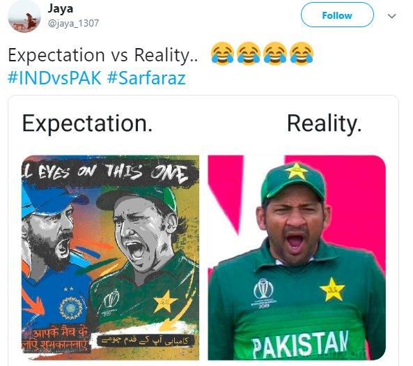 Sarfaraz Yawn Expectation