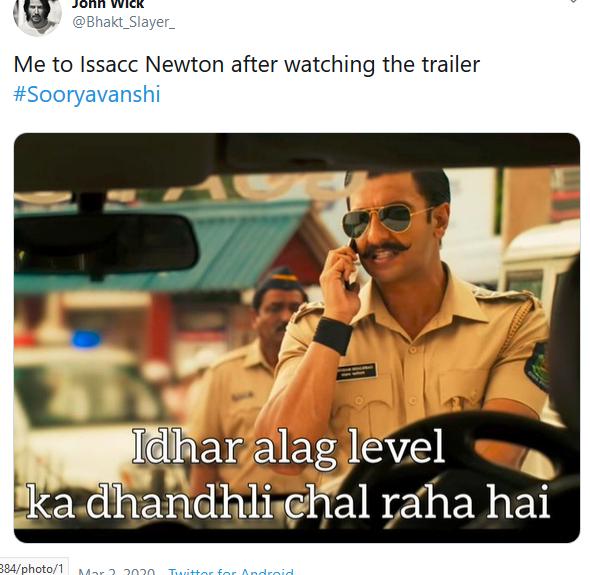 Sooryavanshi Trailer 001