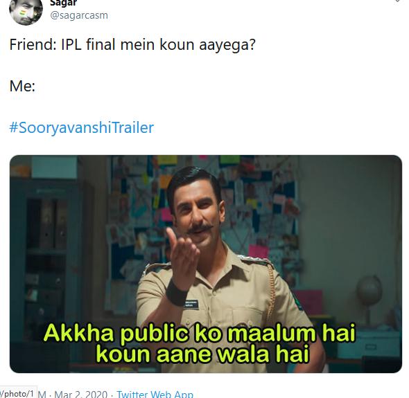 Sooryavanshi Trailer 007