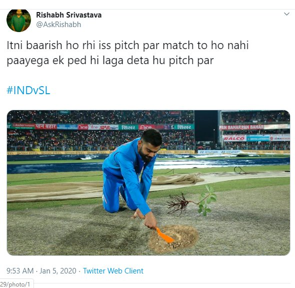 Virat Kohli Pitch Inspection 010