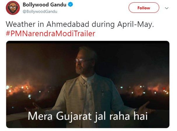 Vivek Oberoi Modi Ahmedabad